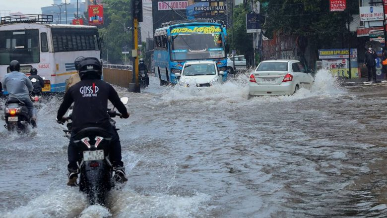 Kerala rains trigger floods; red alert in 5 districts